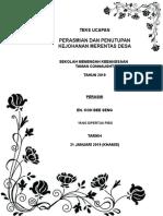 Teks Perasmian Dan Penutupan Merentas Desa 2019 (1)