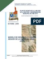 5 Pdu-propuesta - Modelo de Desarrollo Urbano Seguro Ciudad de Tarma