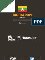 Digital 2019 Myanmar