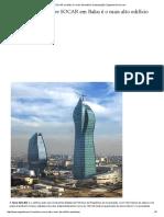Torre SOCAR Em Baku é o Mais Alto Edifício Do Azerbaijão _ EngenhariaCivil