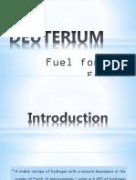 Deuterium Ppt