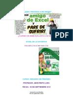 HÁGASE AMIGO DE EXCEL