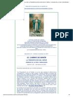 El Camino de Maria . Edicion 1228. La Presentacion de Jesus en El Templo. Jornada de La Vida Consagrada. 2 de Febrero