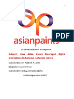 How Asian Paints leveraged digital innovations to become customer centric