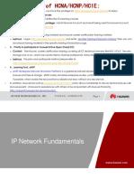 HCNA(HCDA) Huawei Certified Network Associate Training
