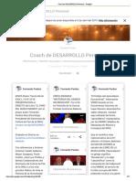Coach de DESARROLLO Personal - Google+ Fernando Pardos Diaz (Completo 16-2-2019, 72 pags)