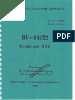 Empfänger R-311 DV-44/22
