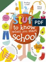 DK Kids – Stuff to Know When You Start School