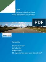 4.- NovoCrete Presentación Espanol