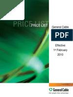 BICC PriceList[1]