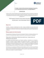 Convocatoria CPICTEC 2019