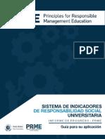 Sistema de Indicadores de Responsabilidad Social Universitaria