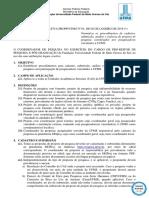 Regulamento 0977896 01 2019 Instrucao Normativa Projetos de Pesquisa Republicada