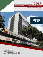 Informe del Comisario de PDVSA 2017