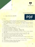 Obras Del P. Ramirez OP