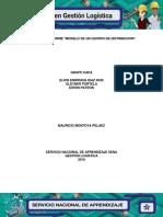 Evidencia 9.6.Modelo de Un Centro de Distribucion