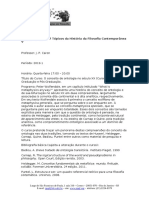 Catalogo Das Disciplinas Do PPGF 2019 1