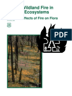 Wildland Fire in Ecosystems Effects of Fire on Flora