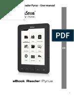 TrekStor eBook Reader Pyrus Manual V1-10 en 2012-04-26