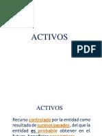 Activos Pasivos y Patrimonioingresos y Gastos