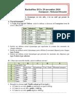 TP7 Excel les tableau croisé dynamique