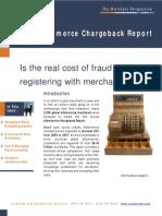 eCommerce Chargeback Report