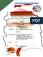 Sistema de Clasificacion Rqd y Terzaghi