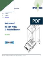 Xs Analyse Service Manual