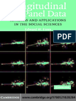 Longitudinal and panel data:analysis and application in the social science