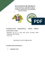 Informe de Planificacion Estrategica