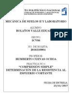 PRACTICAS DE LABORATOTIO MECANICA DE SUELOS ESIA ZAC