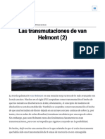 Las Transmutaciones de Van Helmont (2) — Cuaderno de Cultura Científica