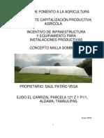 Proyecto de Invecion Saul Patiño Vega