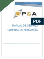 MANUAL DE COMPRAS SOFTWARE SAG