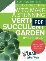 2MB Succulent Vertical Garden