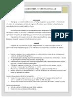 Terminos Fundamentales en NPS Del Lenguaje