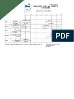 Emplois DuTemps LPEGC S6 2019 Vec Enseignants