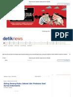 Saling Serang Kubu Jokowi Dan Prabowo Soal Survei Indomatrik