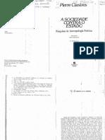 CLASTRES, Pierre. O arco e o cesto.pdf