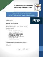 Salud Publica Trabajo Monografico
