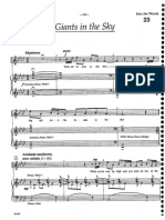 giants in the sky sheet music