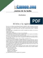 Anonimo - Cuentos De La India-FREELIBROS.ORG.pdf