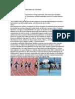 Historia Nacional e Internacional Del Atletismo