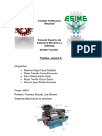 Práctica de sistema eléctrico ESIME
