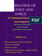 02- Examination of the Foot and Ankle1
