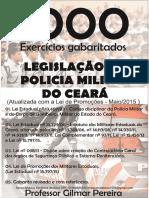 1000 QUESTÕES LEGISLAÇÃO PMCE