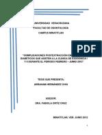 Complicaciones postextracción en pacientes diabéticos que asisten a la clinica de exodoncia I y II durante el periodo febrero - junio 2012.docx