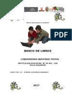 Ficha de Banco Libros,Relacion de Apafa y Caratula de Diagnostico Educativo 2014