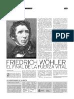Wohler y La Teoría Del Vitalismo