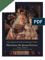 Vida Admirável de Mariana de Jesus